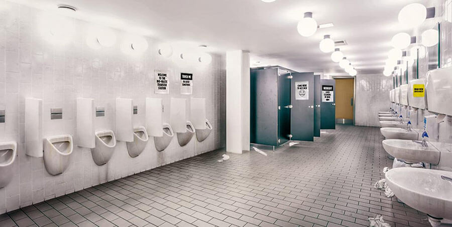 Restroom and Locker room Cleaning